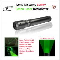 China Long Distance Tactical Pistol Rifle Scope , Green Laser Sight With Metal Housing on sale