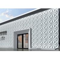 Outside Fake Stone Veneer 3D Wall Covering Carved Malm 3d Wall Tiles for Hotel , Restaurant Manufactures