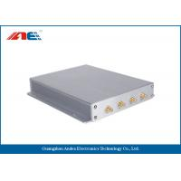 Asset Tracking RFID Long Range Reader With 4 Antenna Interface Adjustable RF Power Manufactures