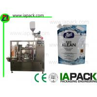 Laundry Automatic Liquid Packing Machine Stand Up Pouch Customized Manufactures
