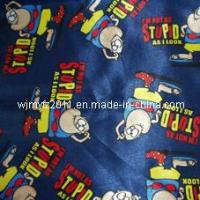 100% Polyester Carton Printed Fabric Manufactures
