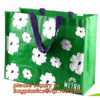 China Factory Price Custom High Quality Laminated Shopping Gift Packing PP Non Woven Bag,Eco Friendly Tote Shopping Carry Fabr on sale