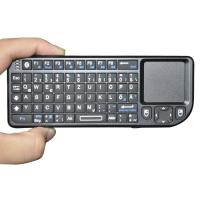 Bluetooth Wireless Rii Mini Keyboard With Touchpad ,Laser Pointer (Spanish Layout) for PC, HTPC PS3 and Smartphones