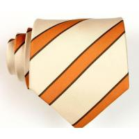China polyester yarn dyed woven neckties on sale