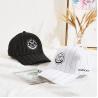 Buy cheap 6 panel sports embroidery logo white black custom 100% cotton baseball cap from wholesalers