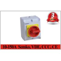 Semko,VDE,CCC,CE IP65 2~5P 10A~150A Rotary Isolator Switch Electrical Isolation Switch Waterproof switch Manufactures