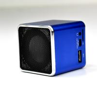 Portable 3.5mm multi languageTouch loud rechargeable powerful portable speakers for iPhone Manufactures
