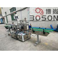 PCL Control Automatic Sticker Labeling Machine For Round / Flat / Square Bottle Manufactures