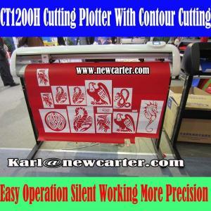 China 1200 Vinyl Cutter Plotter Creation Pcut Cutting Plotter CT1200H Contour Cutting Plotter on sale