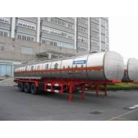 40800L Q345 Fuel Tank Trailer for Light Diesel Oil Delivery (HZZ9400GYY) Manufactures