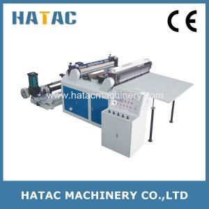China Cellophane Paper Slitting and Sheeting Machine,Adhesive Sticker Sheeter Machine,Glassine Paper Slitting Machine on sale