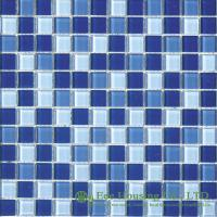 China Acid-proof Crystal Mosaic Tile Manufacturer in China, For Swimming Pools on sale