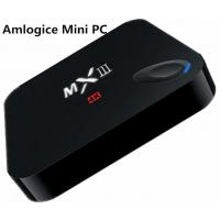 HD Movie Amlogic Mini PC MXIII S802 Quad-Core TV Box BT4.0 , Android Mini Pc Tv Box Manufactures