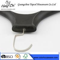 Quality Black ABS Plastic Modern Clothes Hangers / Coat Hangers For Skirts for sale