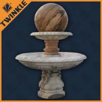 Backyard Ball Stone Water Fountains For Home Decorative , Custom Manufactures
