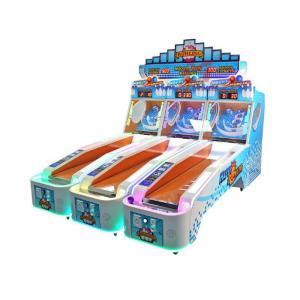3 Player Lane Arcade Games Machines , Happy Bowling Ticket Redemption Machine Manufactures