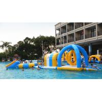 Inflatable Water Park For Party, Pool Inflatable Water Games For Rental Business Manufactures