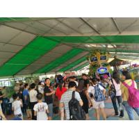Flame Retardant with PVC Roof Cover Outdoor Event Tents / Clear Span 10 x 30 Party Tent Manufactures