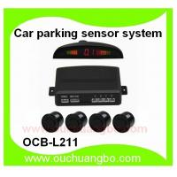 Ouchuangbo Car parking sensor system digital colored LED display working temperature OCB-L211 Manufactures