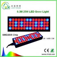 Reflector 25w Led Weed Growing Lights , Square Red Led Plant Grow Lights  Manufactures