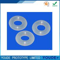Small Batch Rubber Prototyping Flexible Plastic Rings For Electronic Product Manufactures