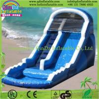 QinDa combo games and inflatable bouncer/inflatable slide castle--Jumping slide Manufactures