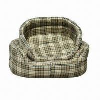 Canvas Donut Pet Bed, Available in 3 Sizes Manufactures
