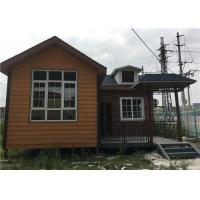 56㎡ Lightweight Cement Board Wall Prefab Steel House With Asphalt Shingle Manufactures