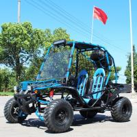 Belt / Chain Drive Air Cooled 200cc Adult Off Road Go Kart With CVT Gear Manufactures