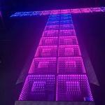 Professional LED DJ Stage Dance Floor , 3D LED Video Dance Floor Manufactures