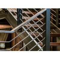 Beautiful Stainless Steel Railing / Stainless Steel Pipe Handrail T19001 Approved Manufactures