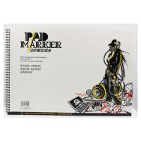 Artist painting pad , the marker pad , A3 / A4 / A5 , low permeation marker pad Manufactures