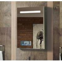 Hotel bathroom glass mirror wall backlit mirror with light mirror TV bluetooth Manufactures