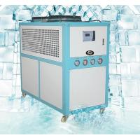China Small Size Air Cooled Industrial Chiller For Plastic Field 200L Water Tank Capacity on sale