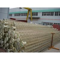 Air Dust Filter Bag Cage / Stainless Steel Cage With Spray Coating Surface Treatment Manufactures