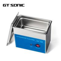 3D Dental Parts Ultrasonic Cleaning Machine Mini Size Powerful Transducer Manufactures