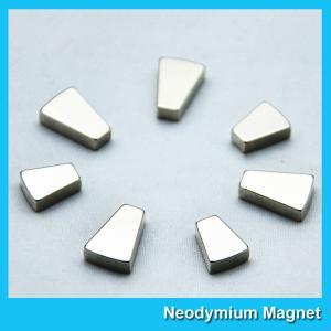 Custom Trapezoid Industrial Neodymium Magnets N35 N38 N42 N48 N50 N52 Grade Manufactures
