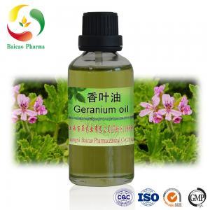 Buy cheap CAS NO.8000-46-2 Pure Pelargonium Essential Oil Geranium Oil from wholesalers