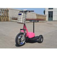 Hand Brake 350w Electric Moped Bike 25 Km/H With Permanent Magnet Brushed DC Motor Manufactures