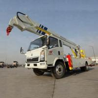 12-14m Aerial Work Platform Truck High Altitude Work Vehicle With 360 Slewing Manufactures
