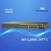 China Cisco Switch WS-C2960-48TT-L - Cisco Catalyst 2960-48TT - Switch - 48 Ports - Managed - Rack-Mountable on sale