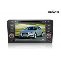 China Capactive Screen Audi Touch Screen Navigation 2002 - 2008 Audi A4 Head Unit on sale