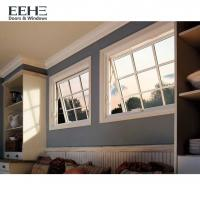 Roof Skylight Aluminium Awning Windows With Non Thermal Break Frosted Glass Manufactures