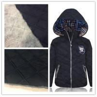 300T Wind Proof Cotton Nylon Fabric Smooth Surface For Cotton - Padded Jacket Manufactures