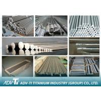 Industrial Titanium Round Bar Hot Forging / Rectifying / Hot Rolling / Grinding Manufactures