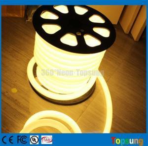 25meter spool 12V DC 360 degree round warm white led flex neon lights for letter Manufactures