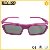 China cheap circular polarized film reald 3d glasses  suitable for cinema wholesale