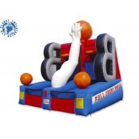 China Full Court Press Basketball Inflatable Sports Games For Party Rental on sale