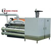 Heating Exchange Single Facer For Corrugated Cardboard Production Line Manufactures