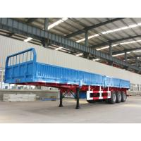 3 axle detachable side wall cargo trailer trucks for sale - CIMC Manufactures